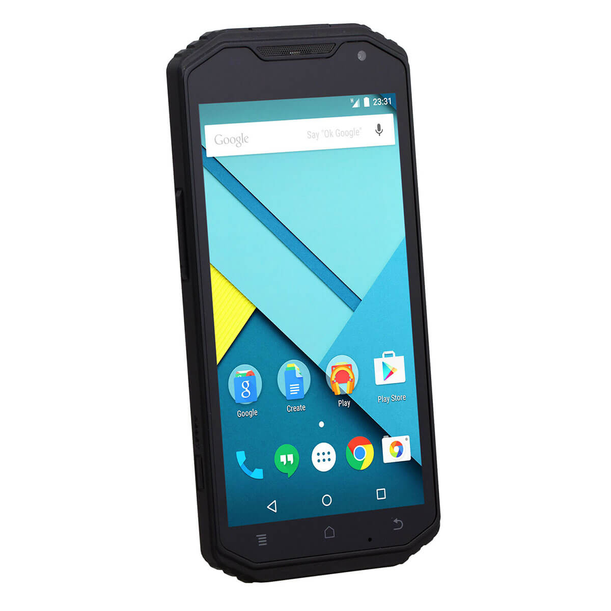 Ruggeroitu Android älypuhelin
