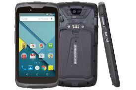 Fieldbook F1 on ruggeroitu Android älypuhelin