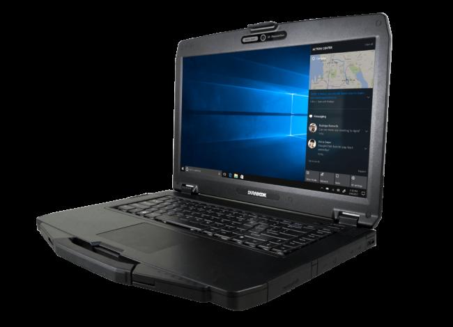 Durabook S15AB on semiruggeroitu tietokone